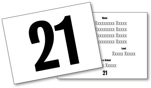 Double sided numbers