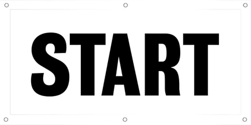 Start/Finish Banner