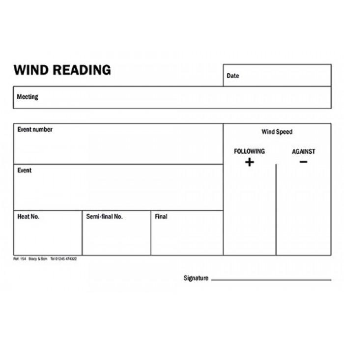 Wind Reading Pad